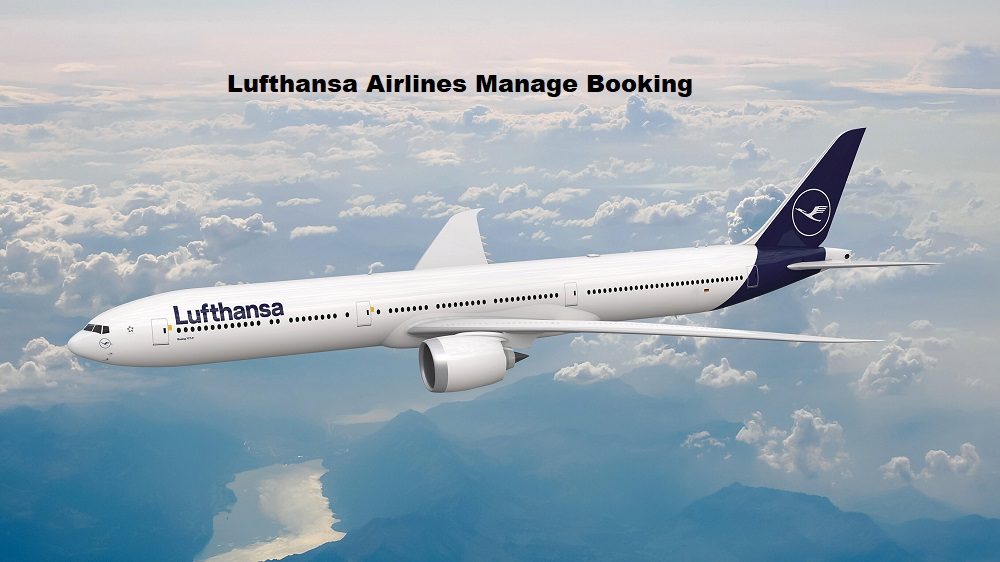 Lufthansa Airlines Manage Booking