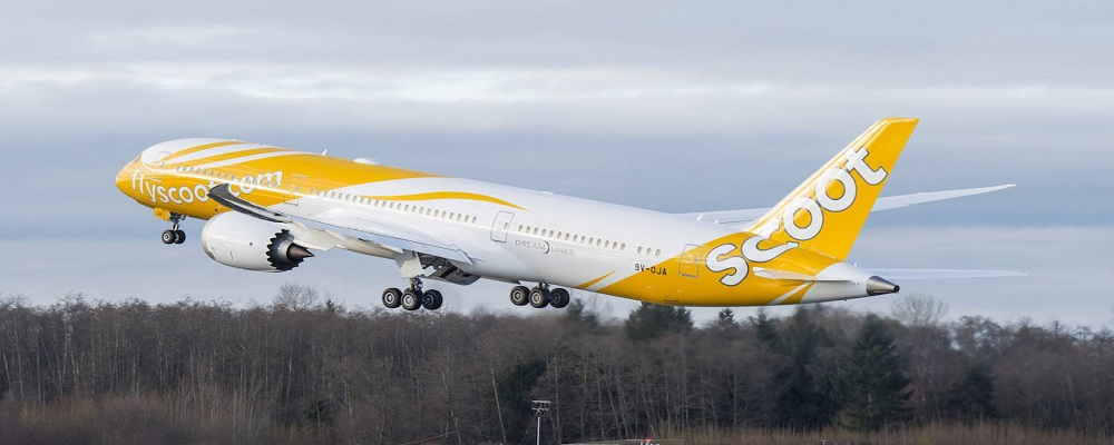 Scoot airlines manage booking